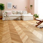 oak chevron flooring manor