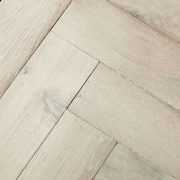 whitened oak parquet flooring swatch
