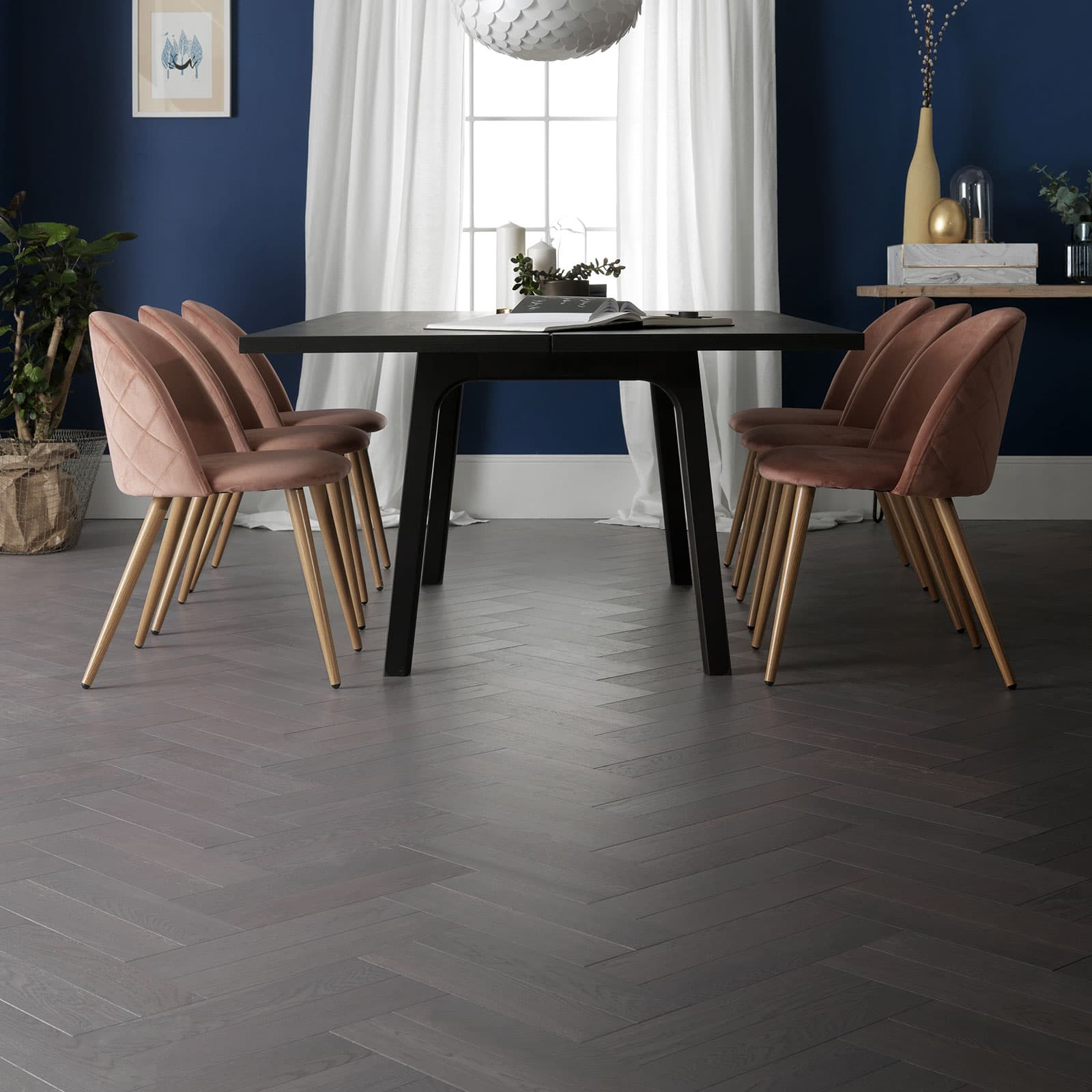 grey parquet flooring ash oak