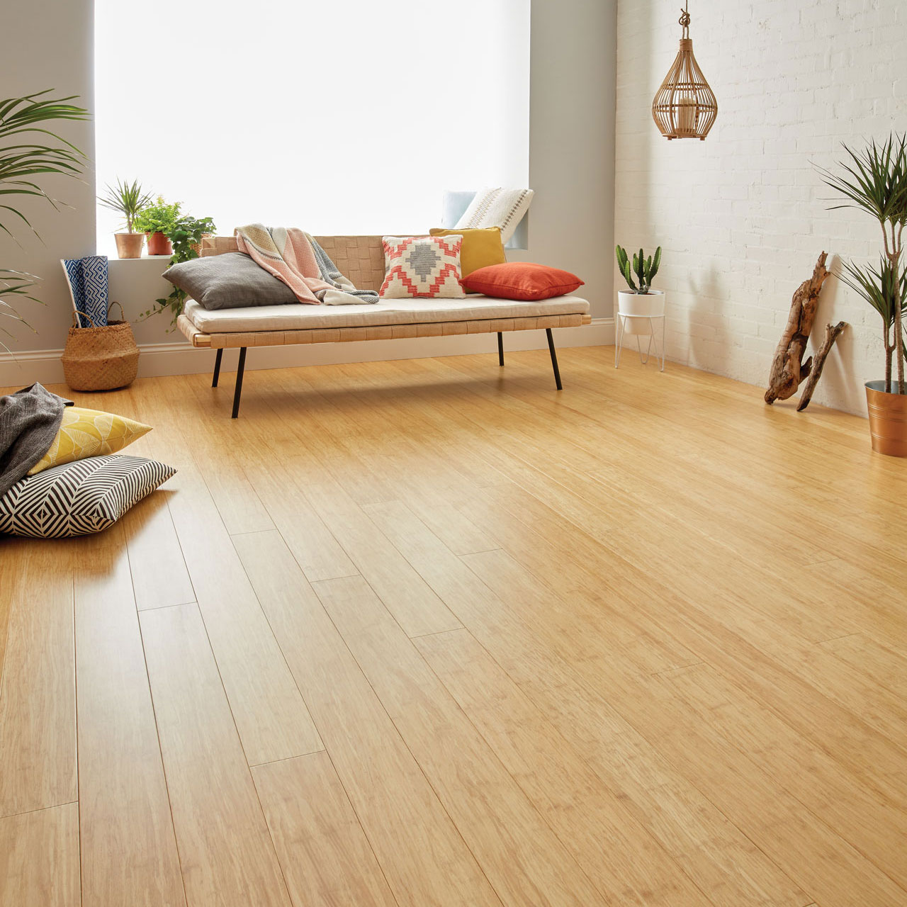 Oxwich natural strand bamboo flooring woodpecker flooring for At floor or on floor