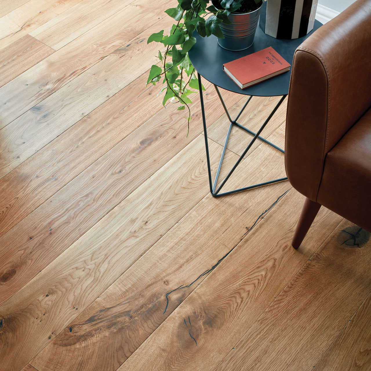 Natural Oak Distressed Wood Flooring Woodpecker Flooring