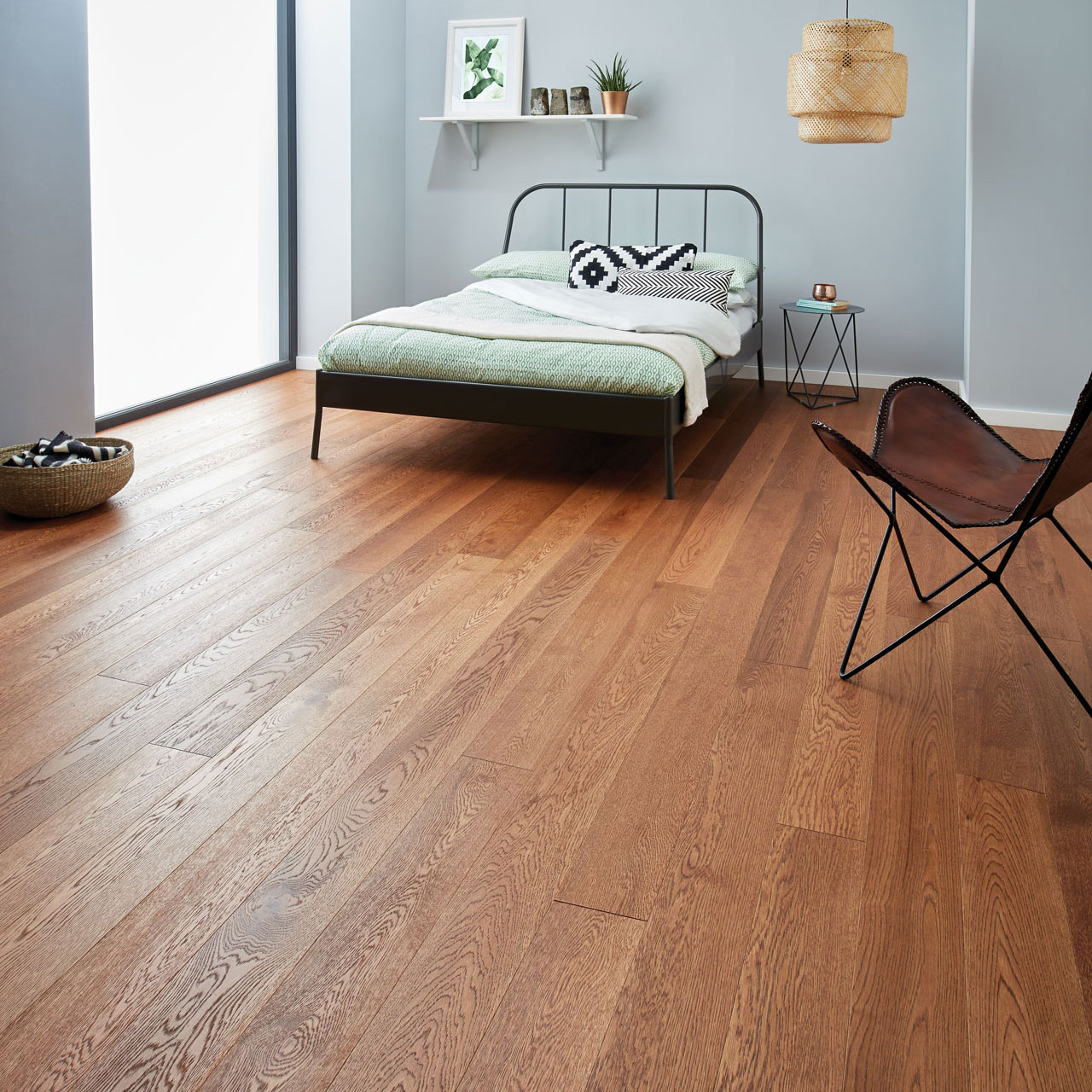 Warm Wood Floors Raglan Coffee Oak