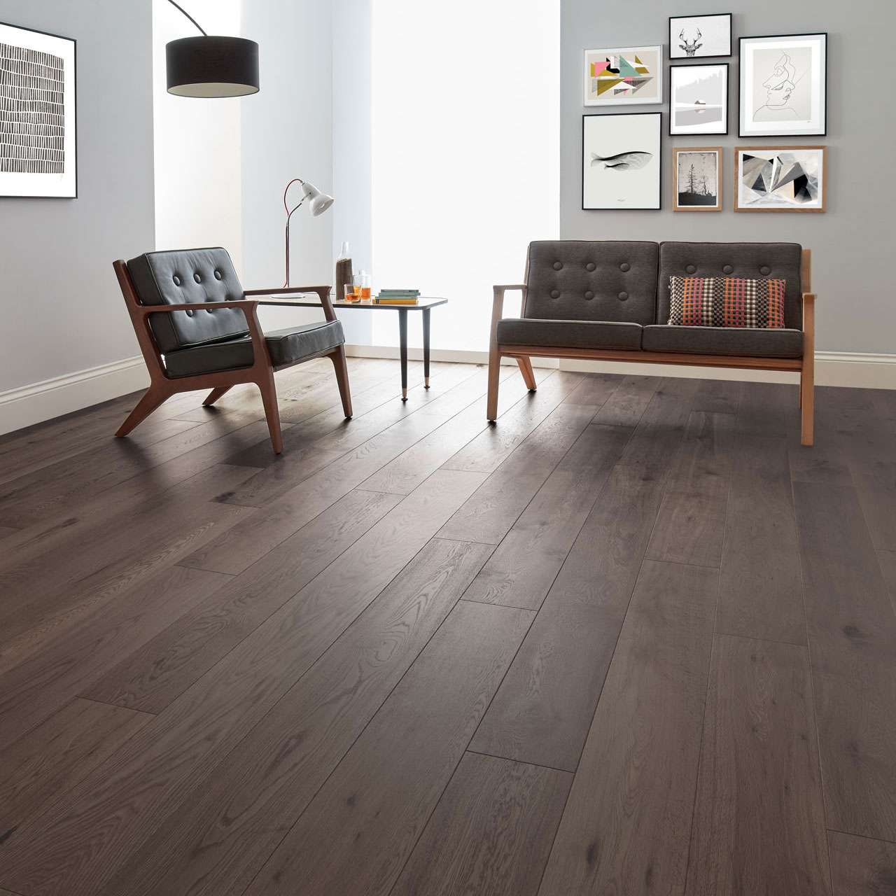 Dark Wood Floors Style Tips Woodpecker Flooring