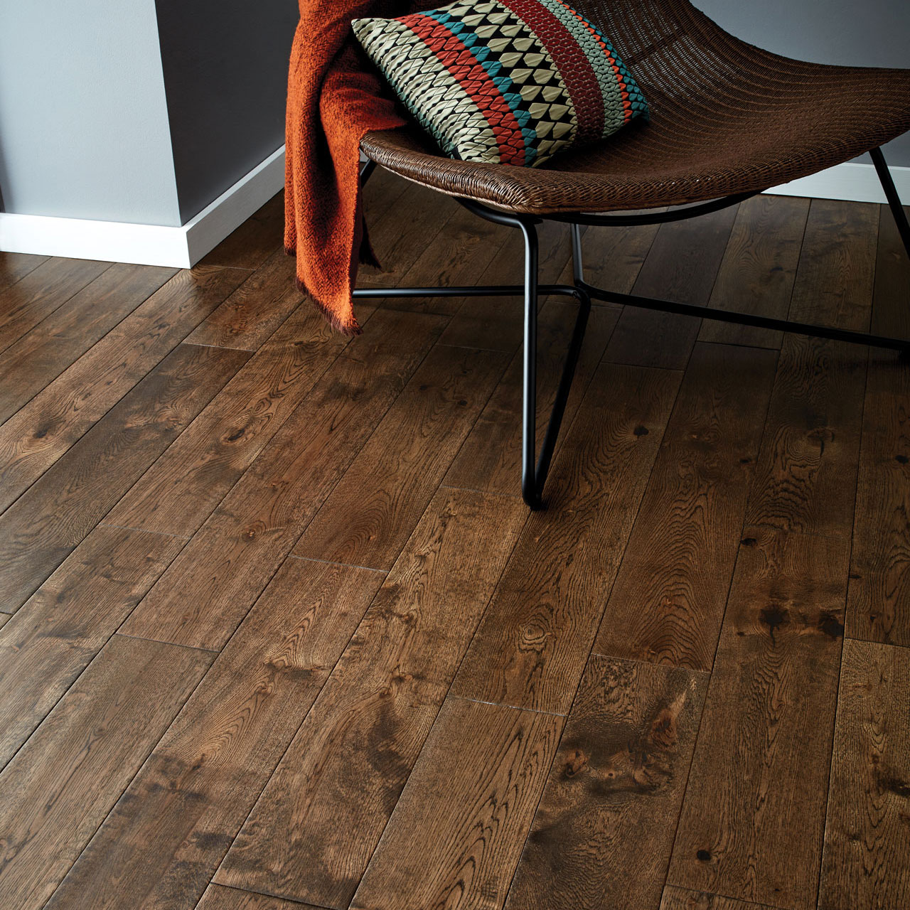 york antique oak flooring - Dark Wood Flooring