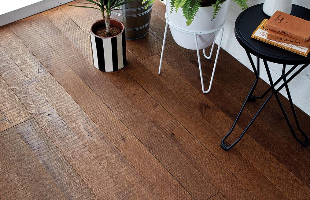 Reclaim distressed wood flooring
