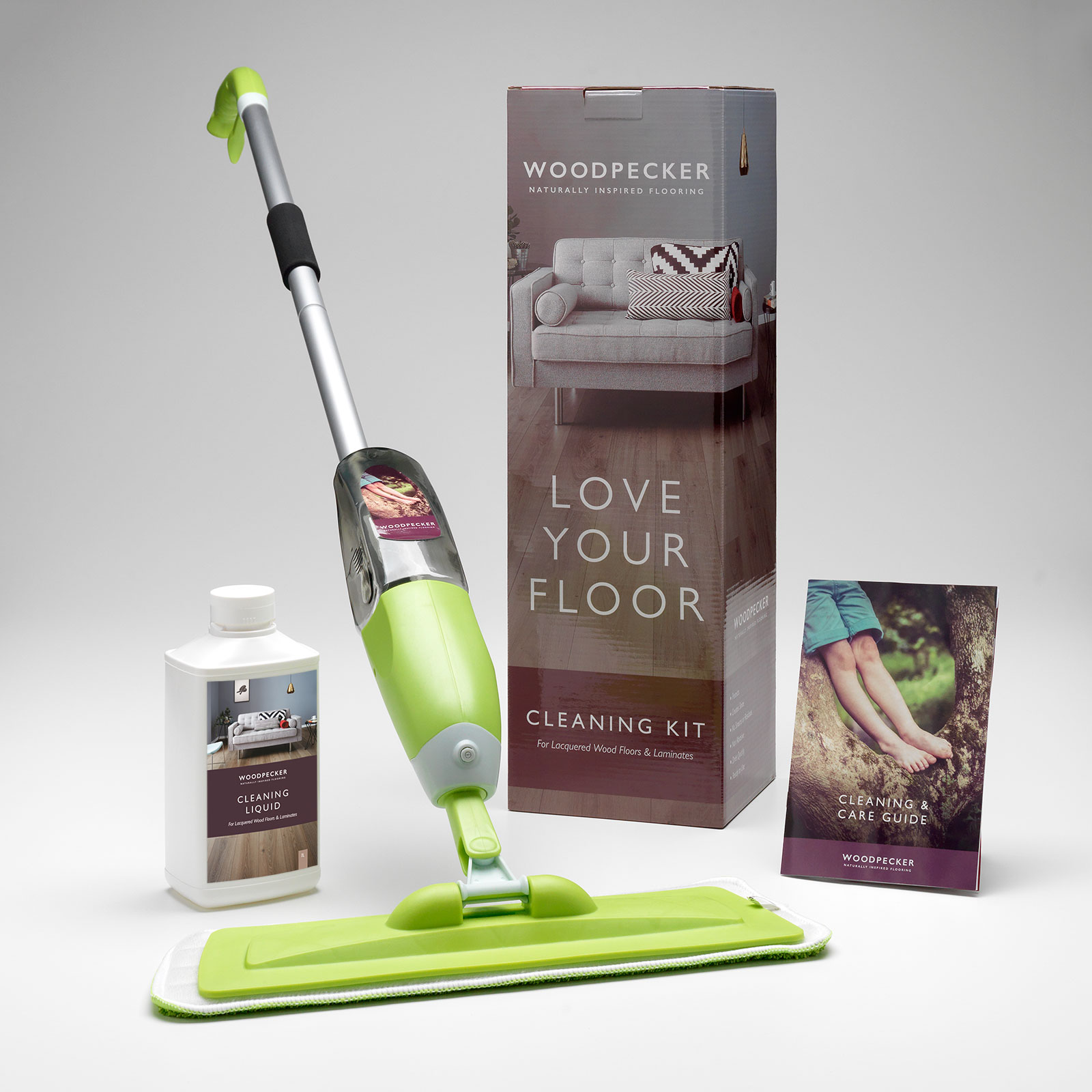 Maintenance Kit For Lacquered Laminate Floors Woodpecker