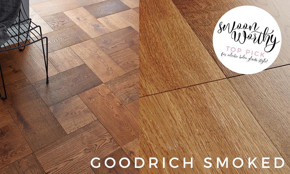 dark wood flooring goodrich smoked
