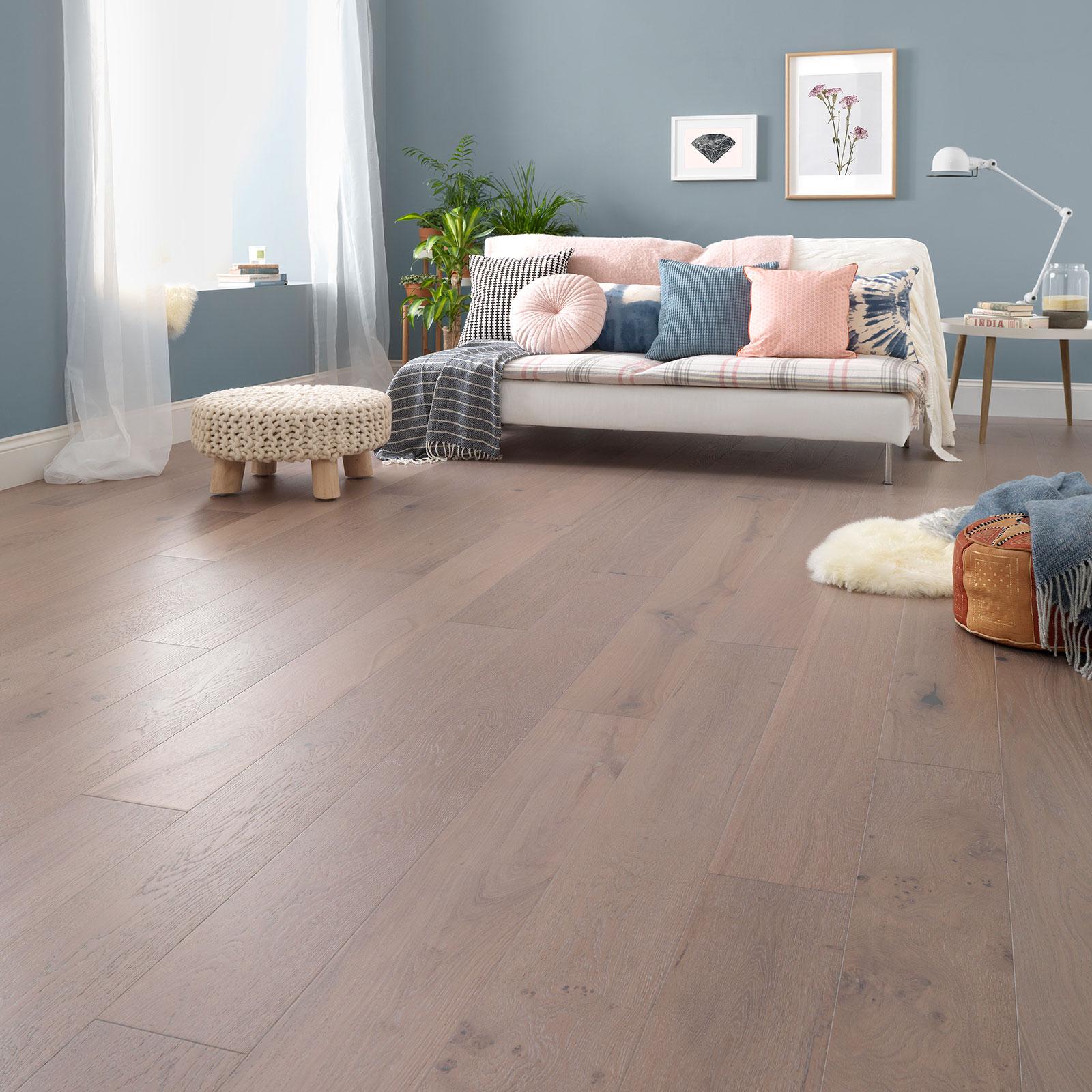 salcombe moonbeam oak flooring roomset