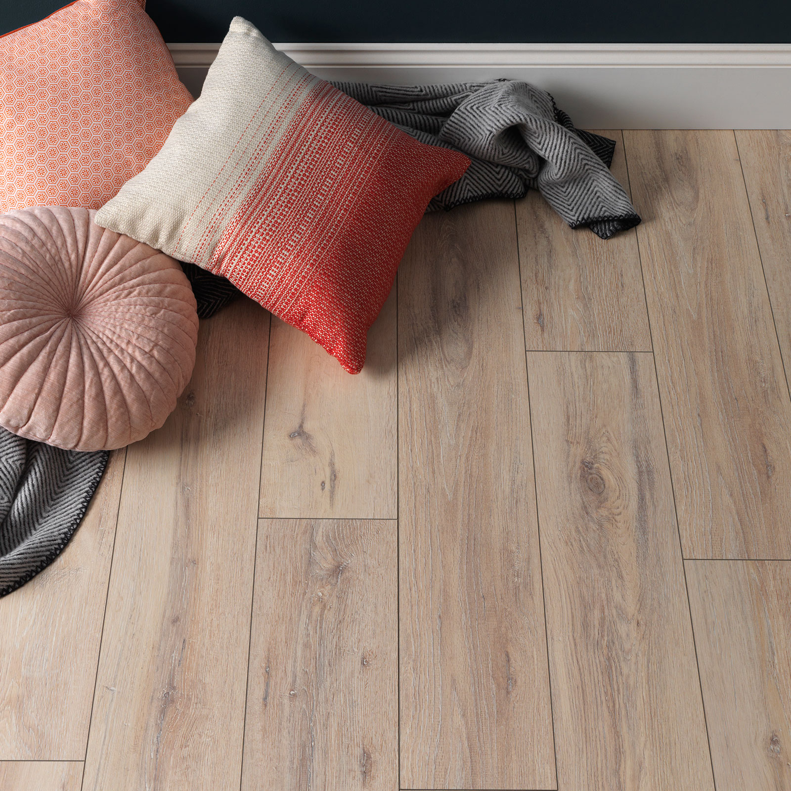 Laminate Flooring Banner Image Of Wembury Coastal Oak