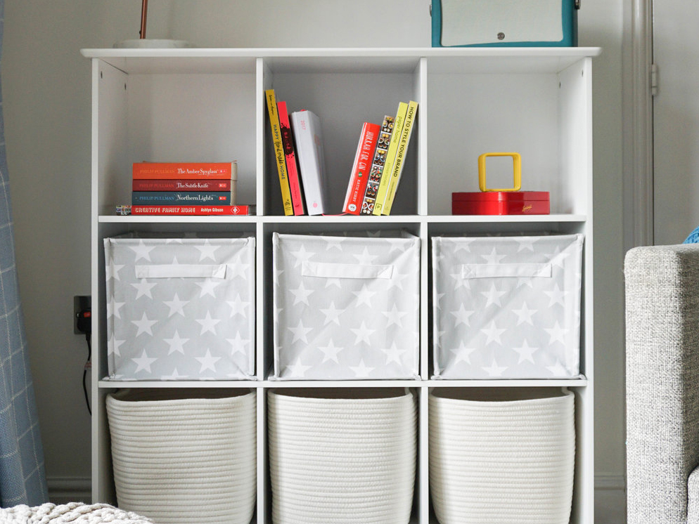 10 child friendly ways to revitalise your home storage