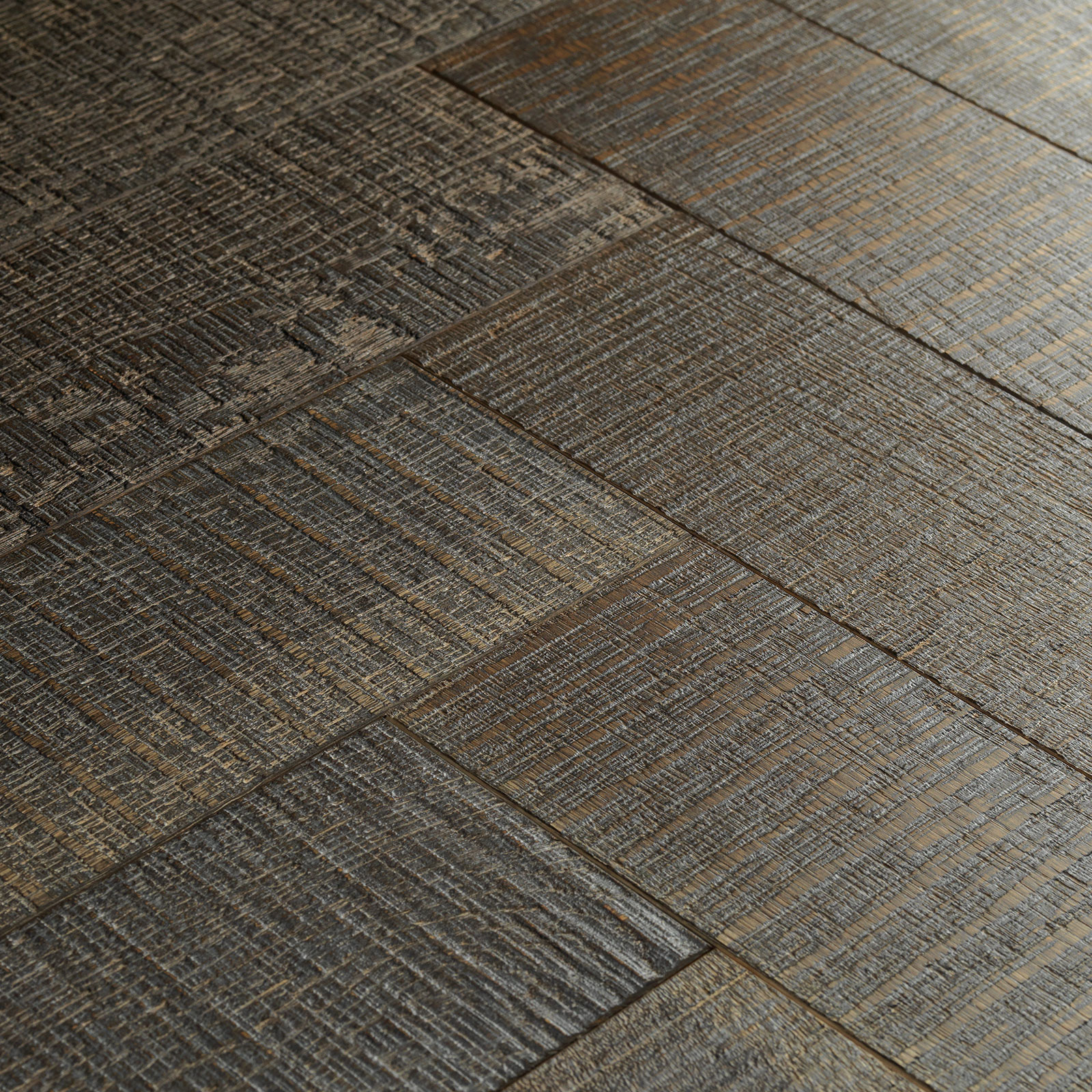Goodrich Truffle Oak Parquet Flooring Woodpecker Flooring
