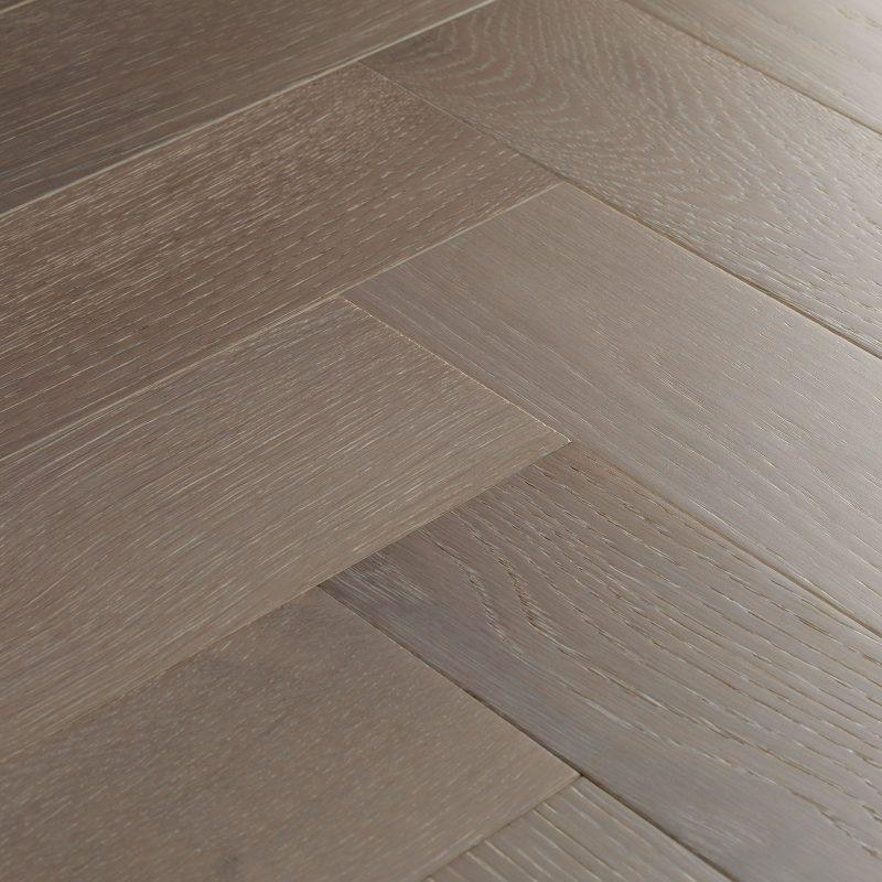 goodrich haze oak chevron flooring woodpecker flooring. Black Bedroom Furniture Sets. Home Design Ideas