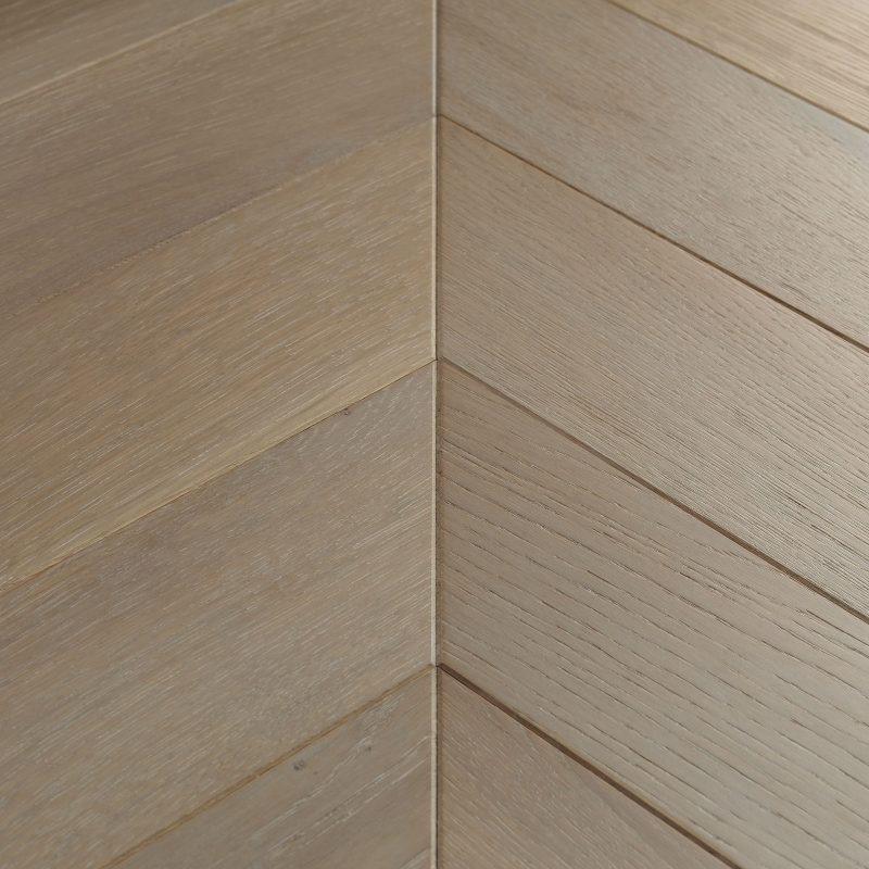 chevron parquet flooring goodrich haze oak swatch