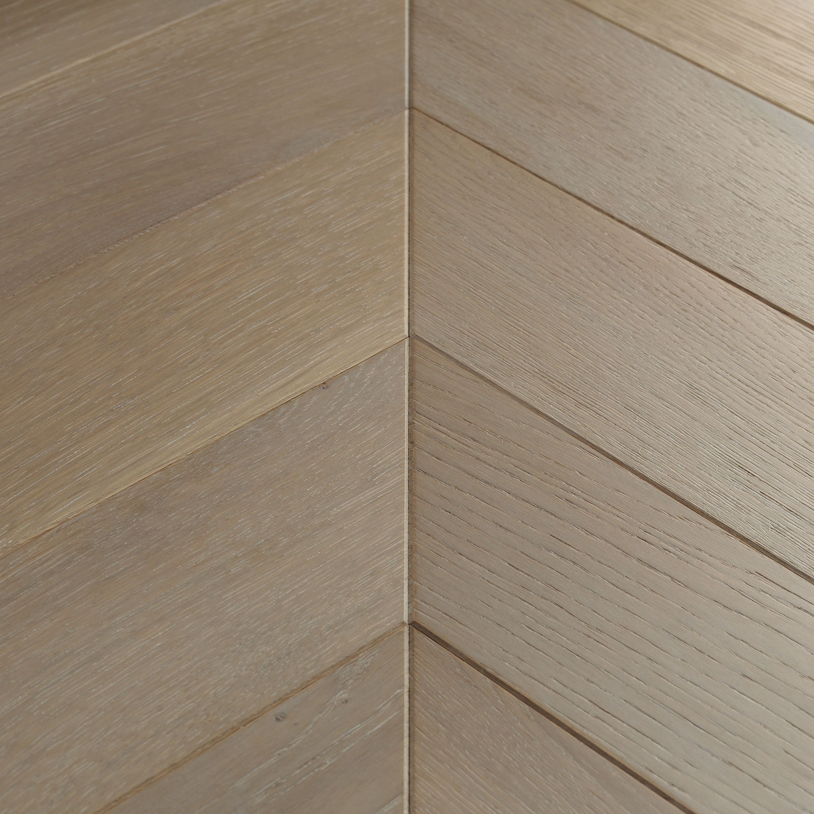 Goodrich Haze Oak Chevron Flooring Woodpecker Flooring