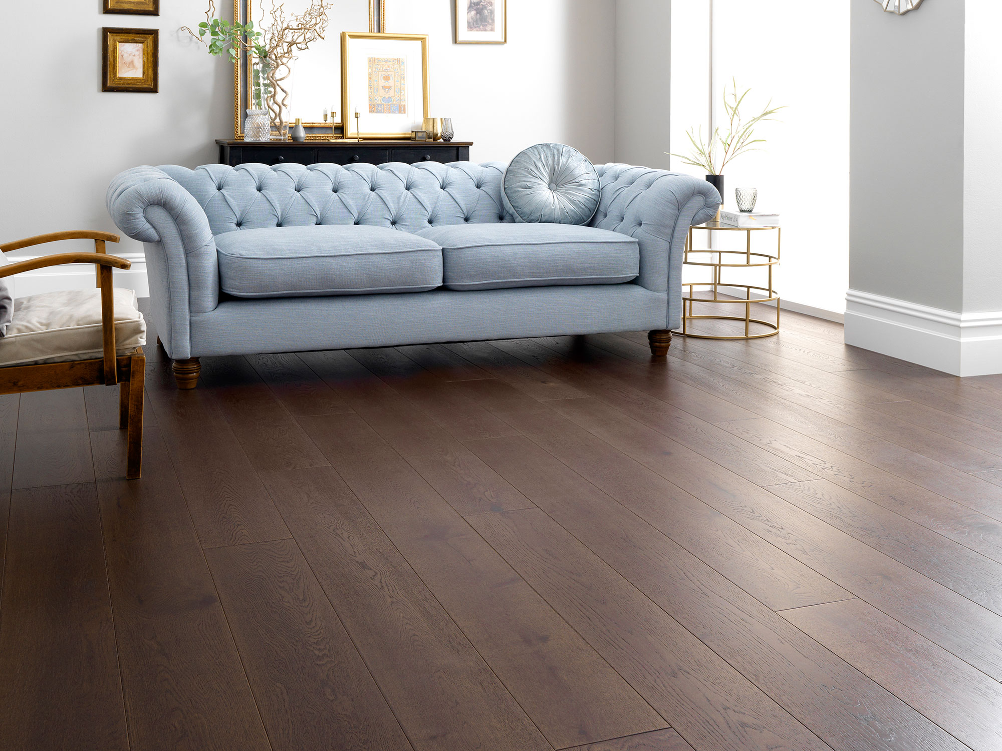 dark oak flooring harlech chocolate