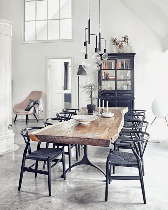 refined pieces modern rustic