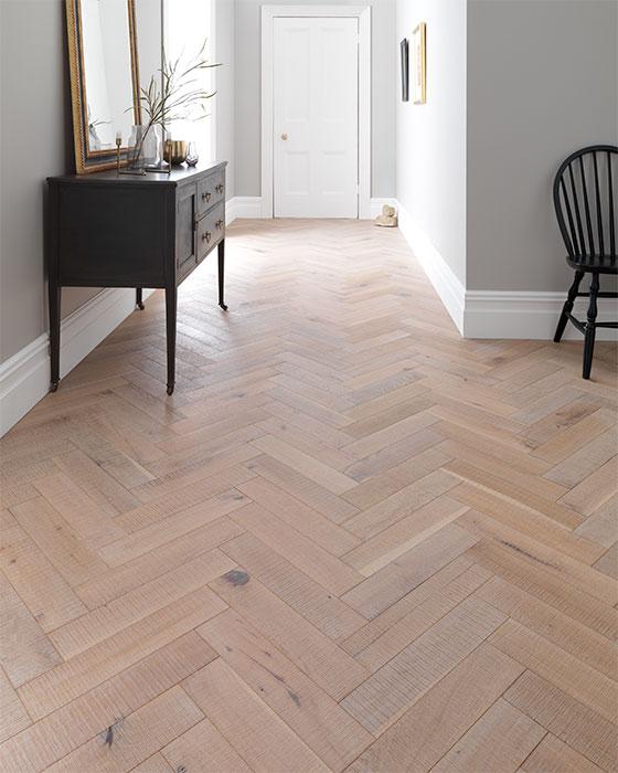 salted oak flooring modern rustic