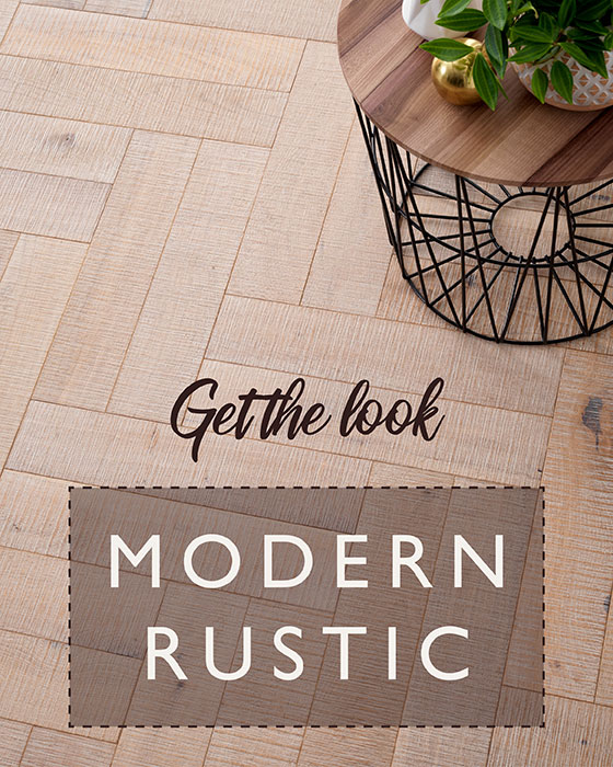 the modern rustic trend