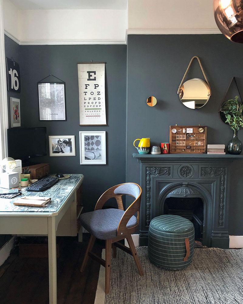 dark interior style versatile
