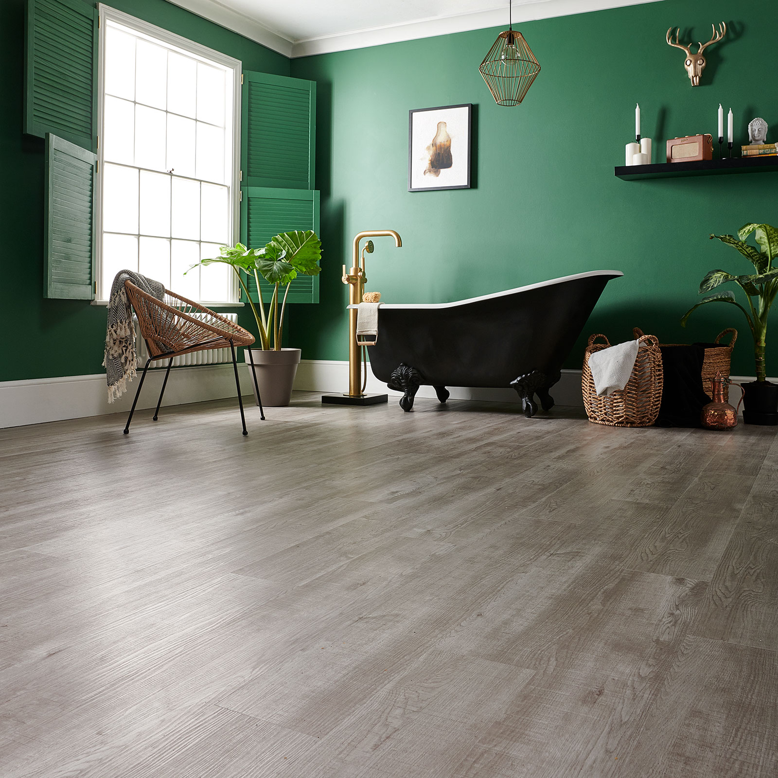 grey laminate flooring warehouse oak image