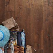 reclaimed wood flooring rugged oak image