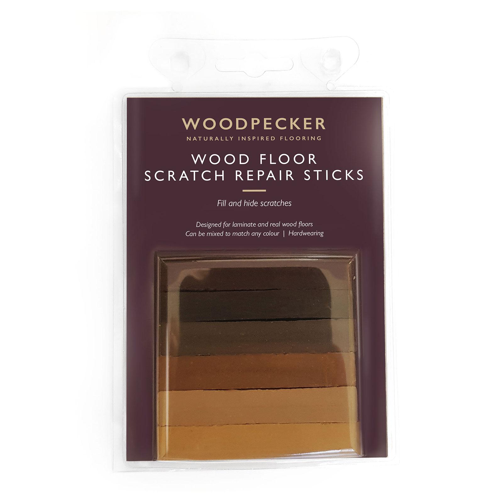 Scratch Repair Sticks Woodpecker Flooring