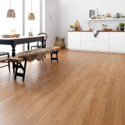 oak laminate flooring vintage