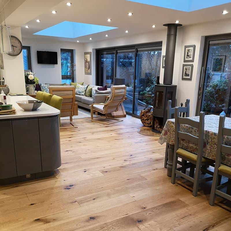 2019 kitchen trends open plan living