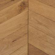 natural oak chevron flooring