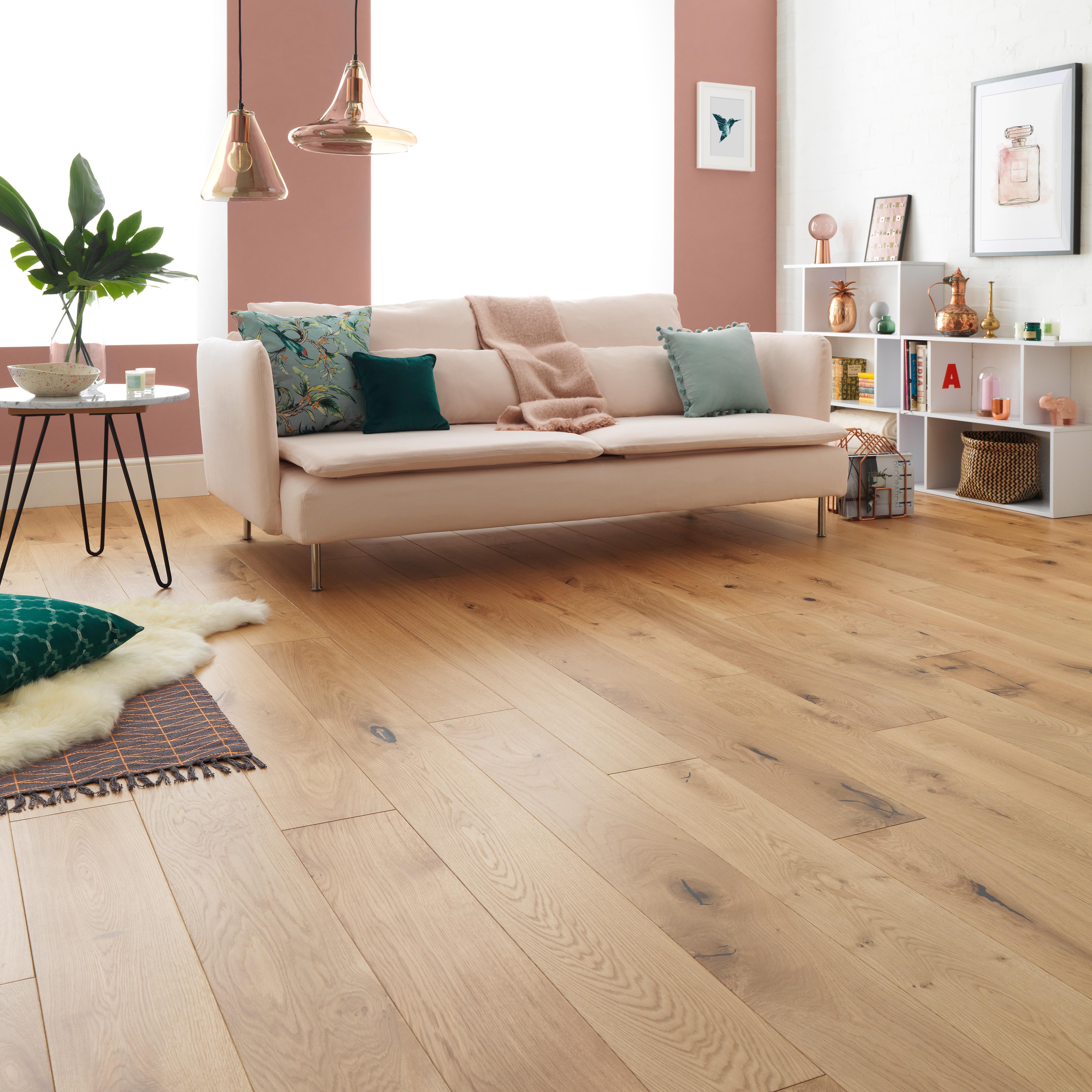wide plank flooring harlech rustic oak
