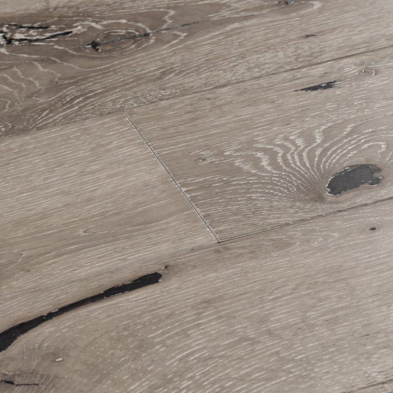 grey solid wood flooring swatch