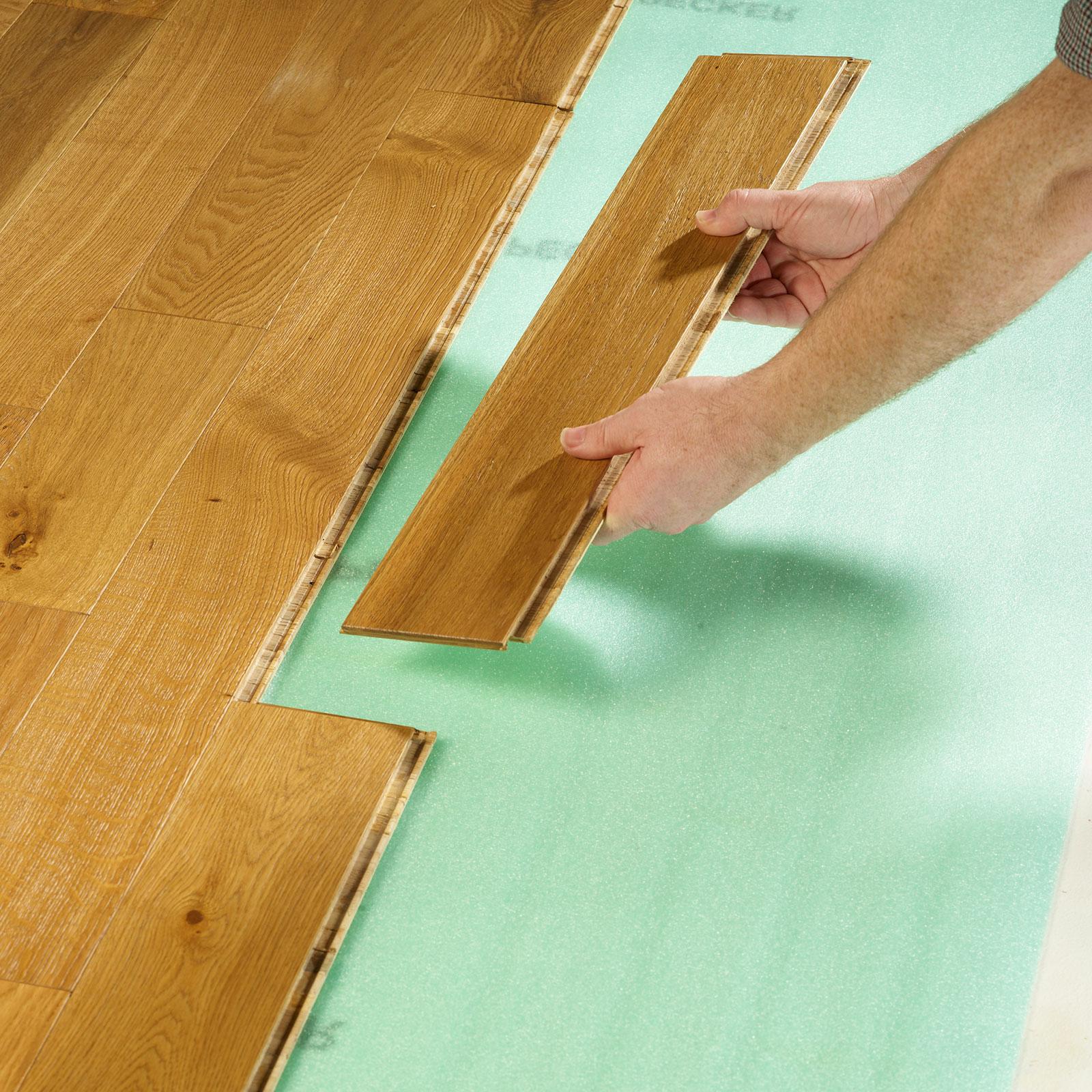 fitting wood flooring