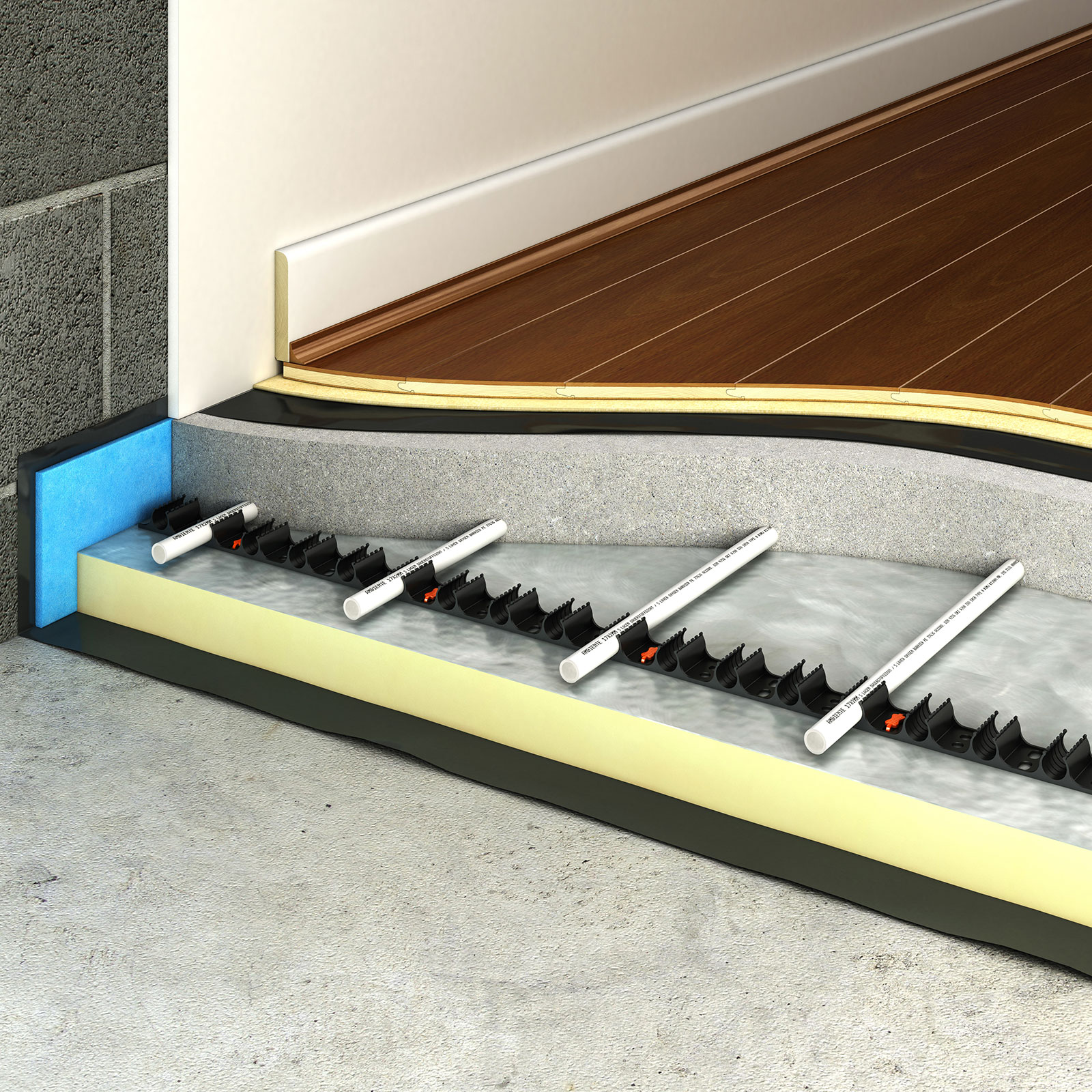 subfloor preparation underfloor heating
