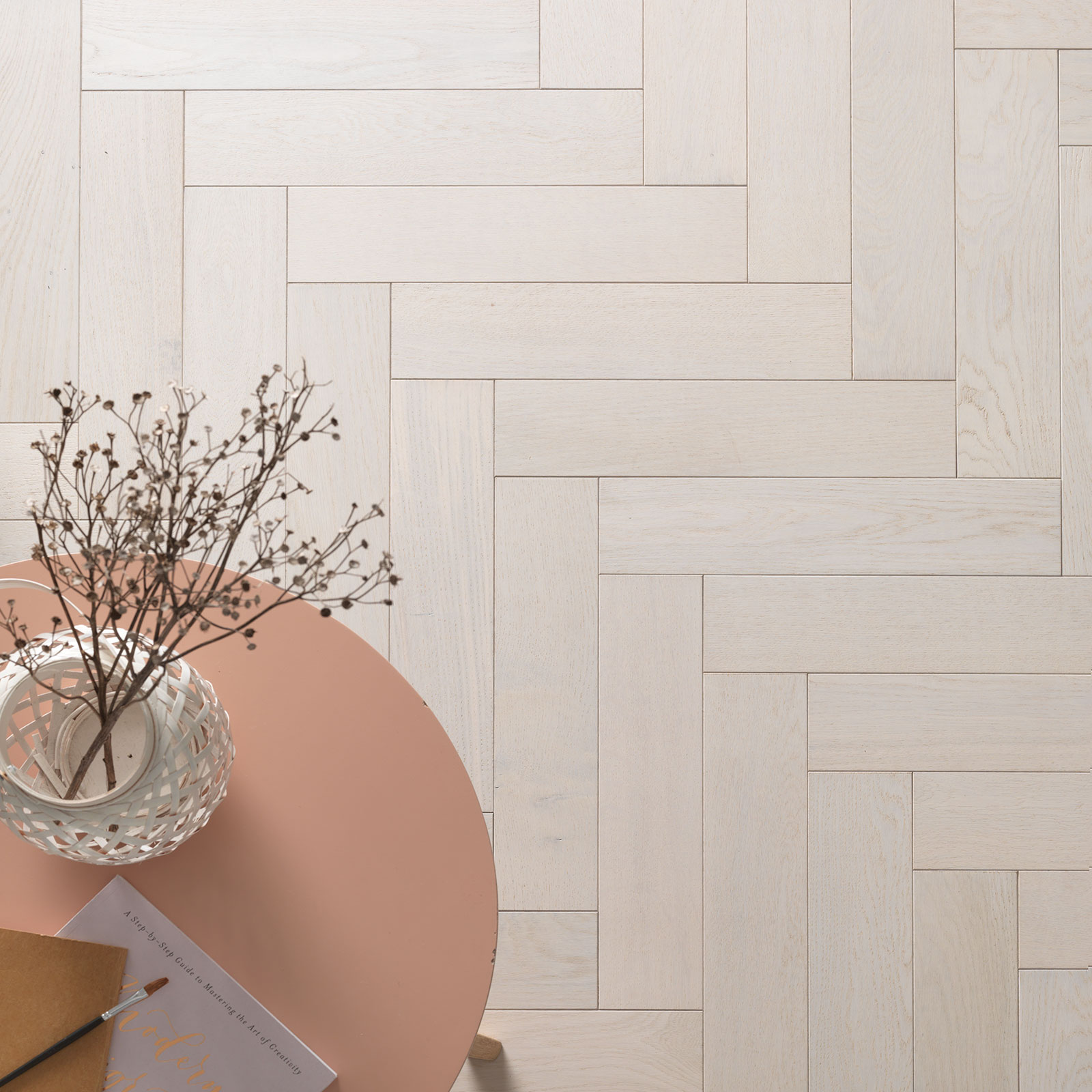 white parquet flooring goodrich cotton oak