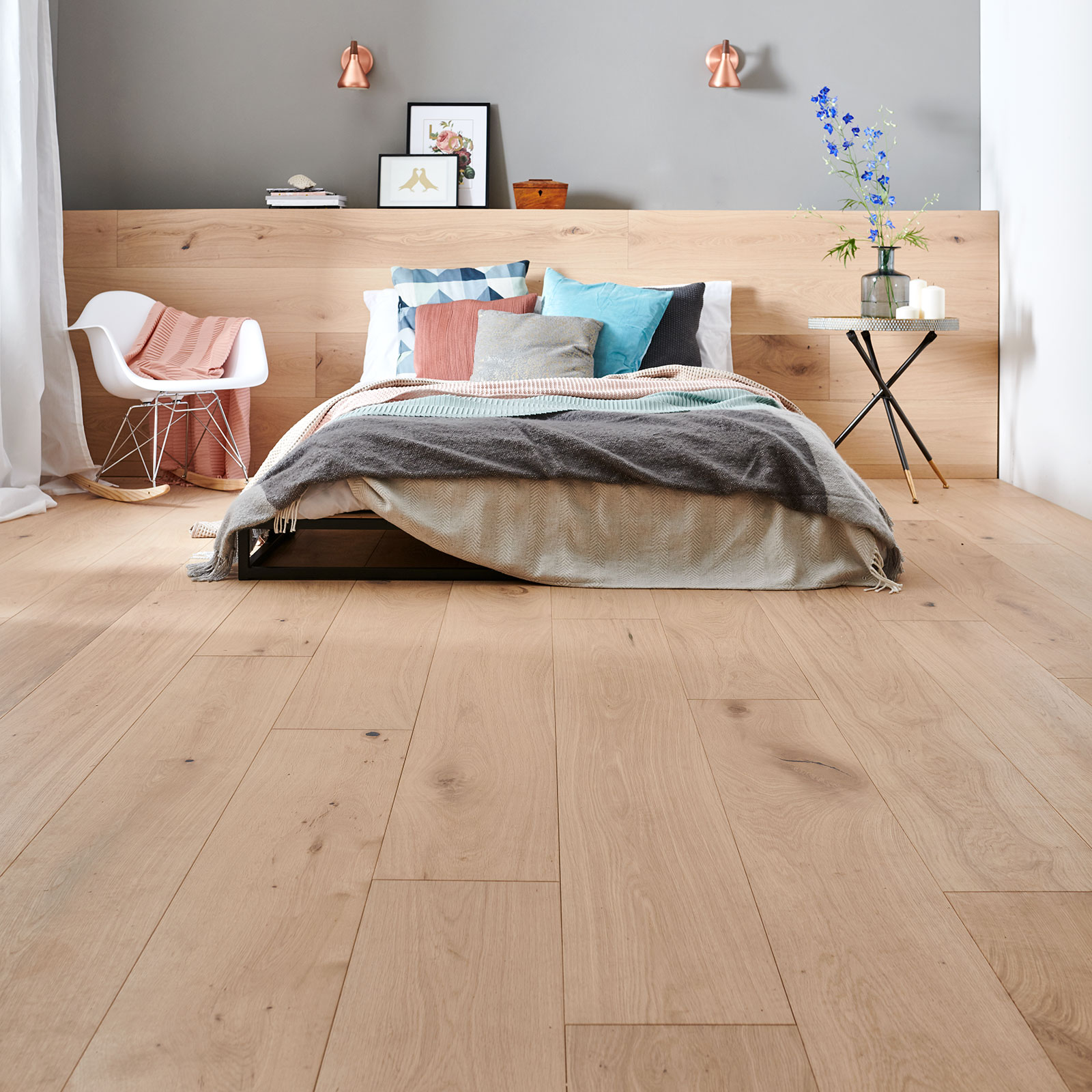 light wood flooring raw oak image