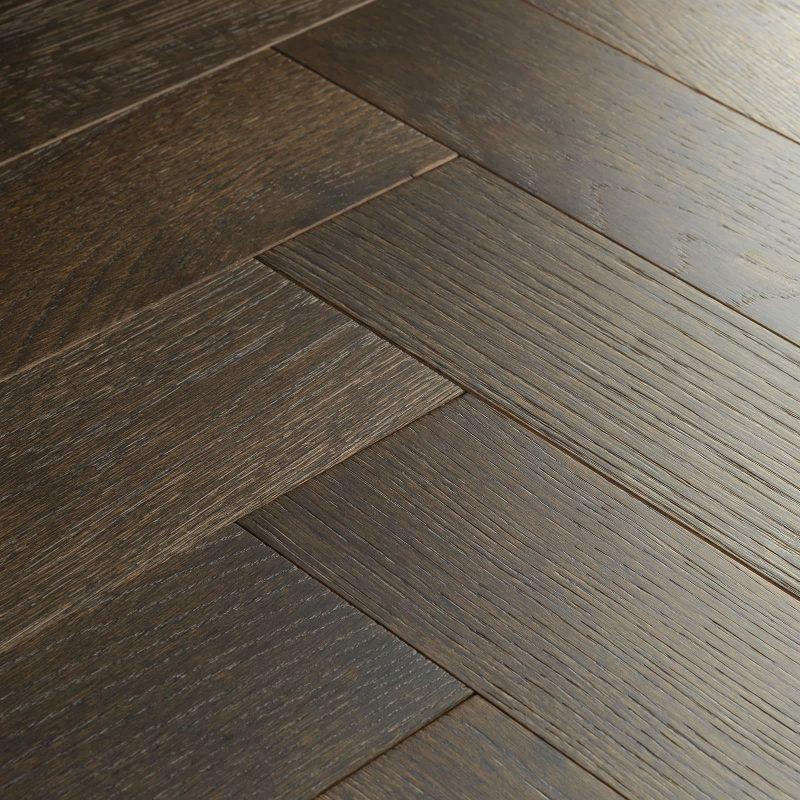 dark oak parquet flooring espresso oak swatch