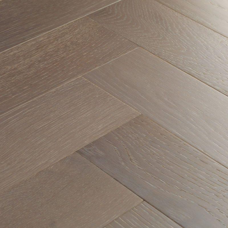 grey parquet flooring swatch