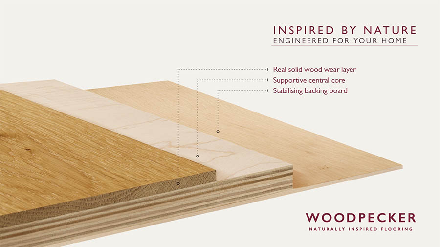 engineered wood cross section