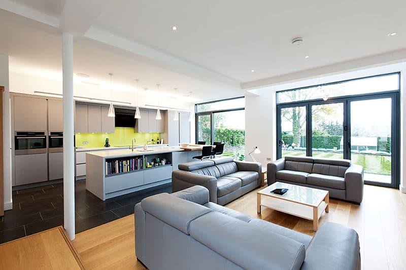 open plan furniture