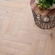 salted oak parquet flooring image 1