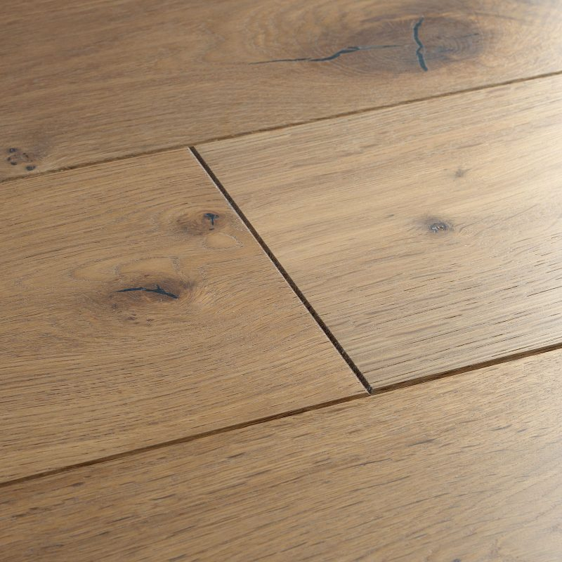 planed washed oak flooring swatch