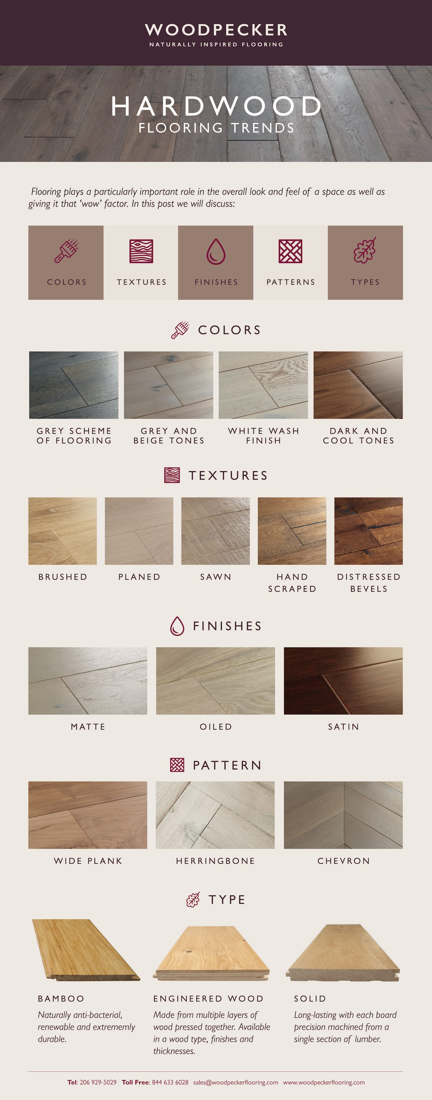 woodpecker flooring infographic flooring trends