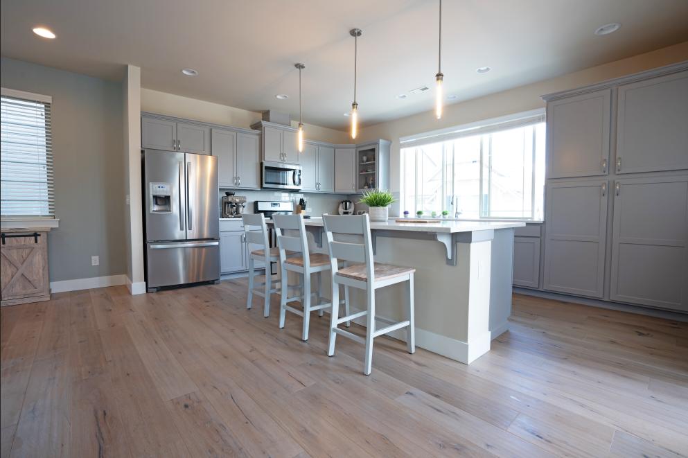 Berkeley grey | white oak Lynnwood project